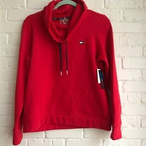❤️Tommy Hilfiger NWT sport sweater small red